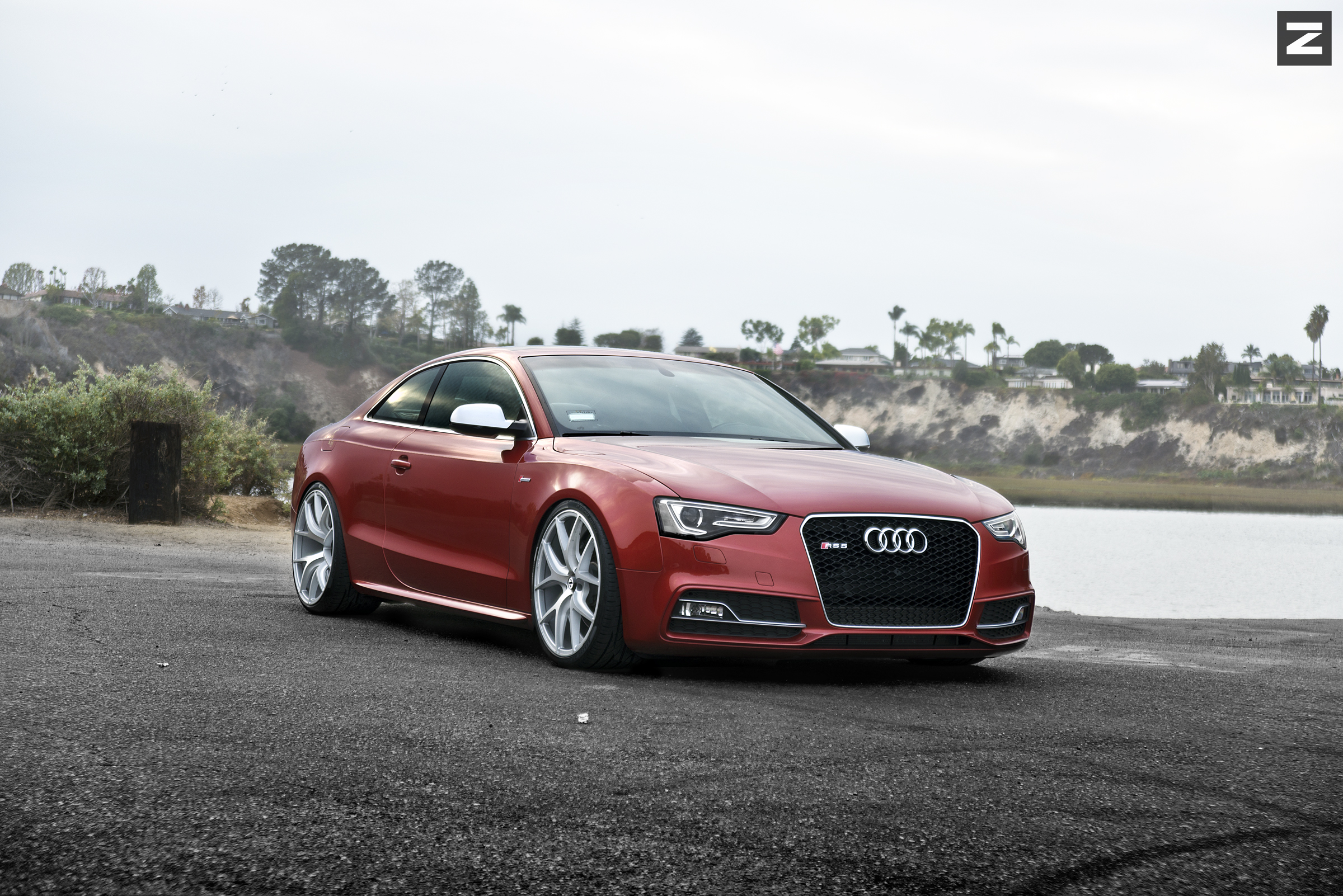 Audi S5 B8.5 Red Silver ZS05