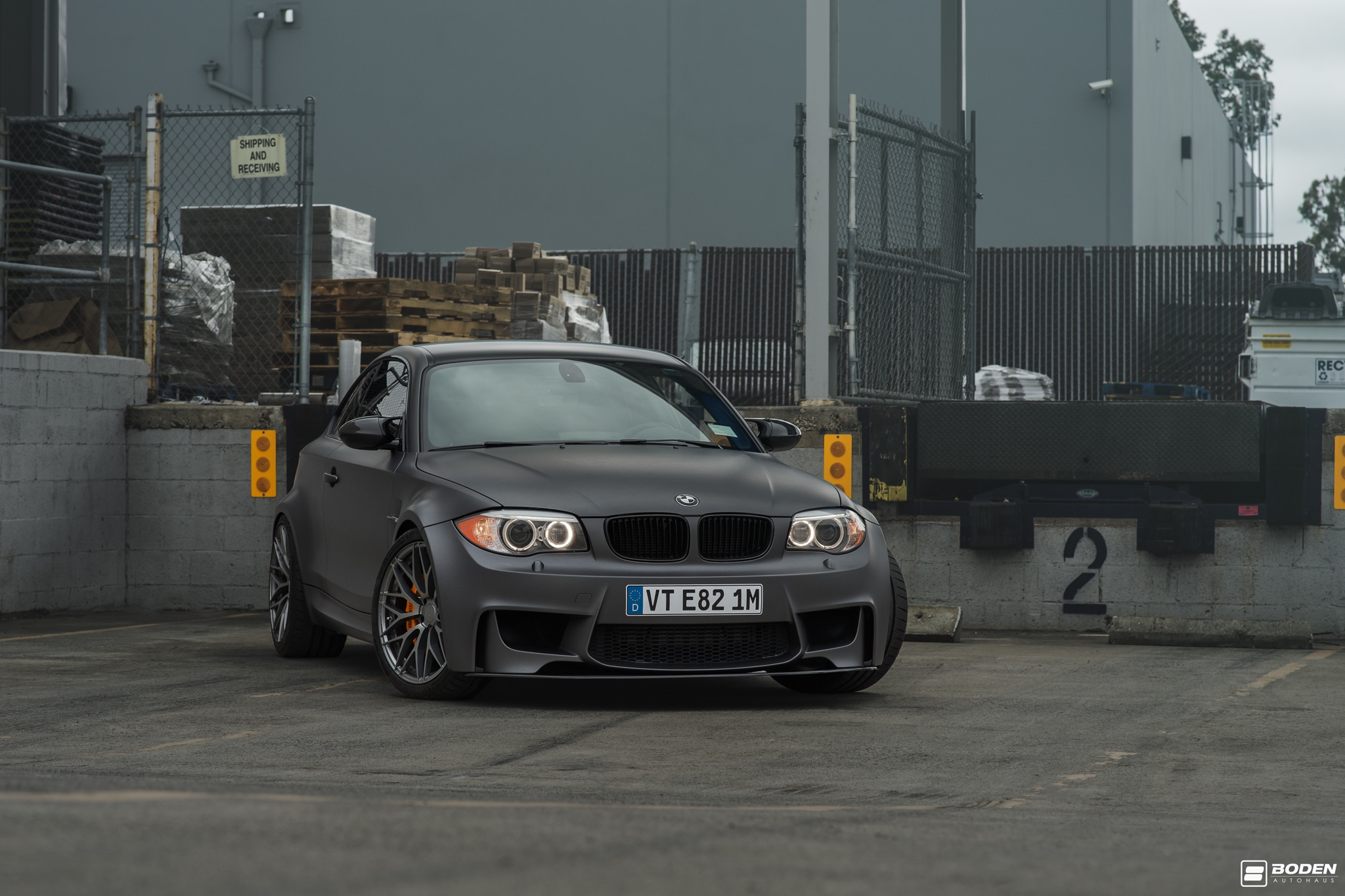 BMW E82 1M Grey Gunmetal ZF01
