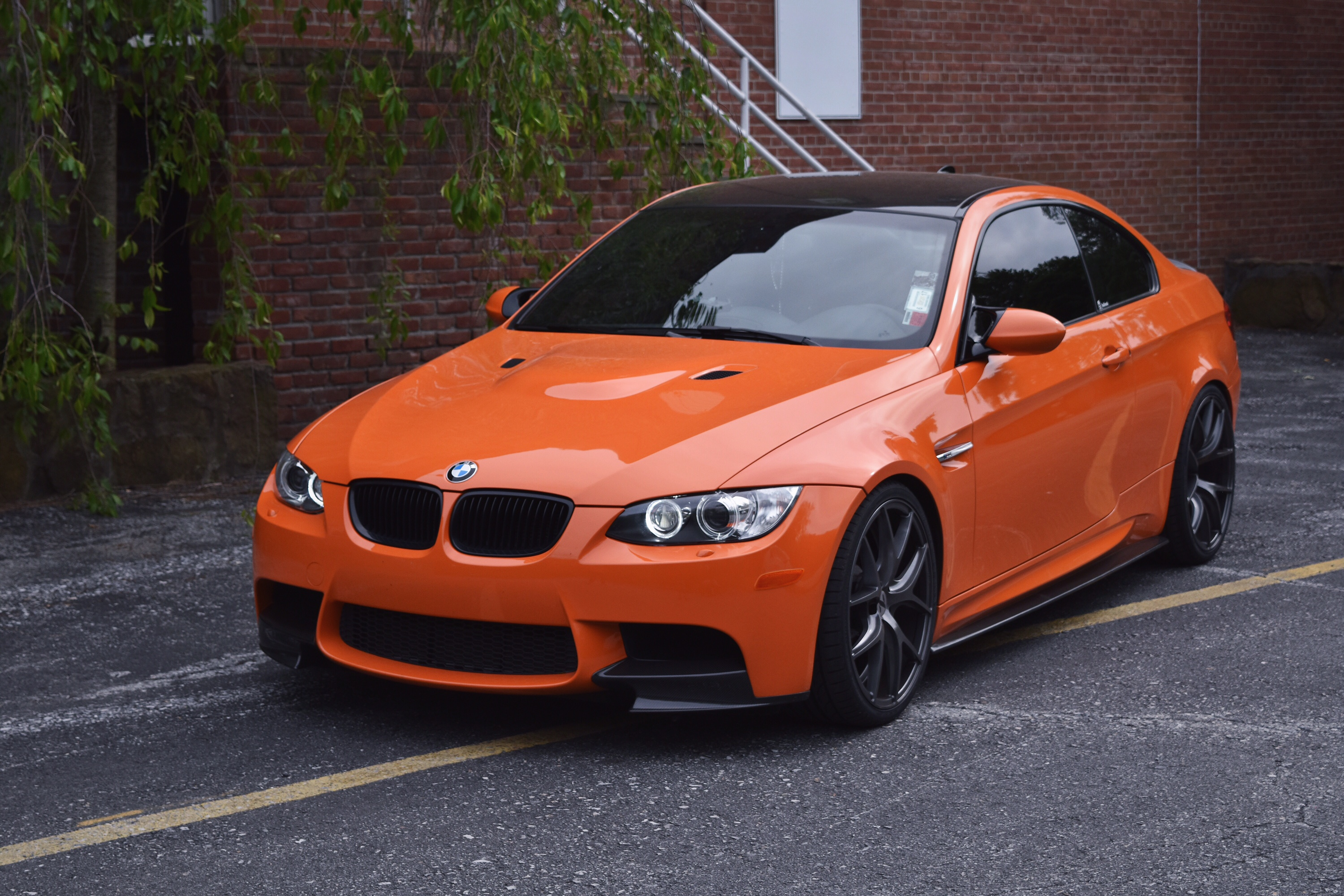 BMW E92 M3 Orange Gunmetal ZS05