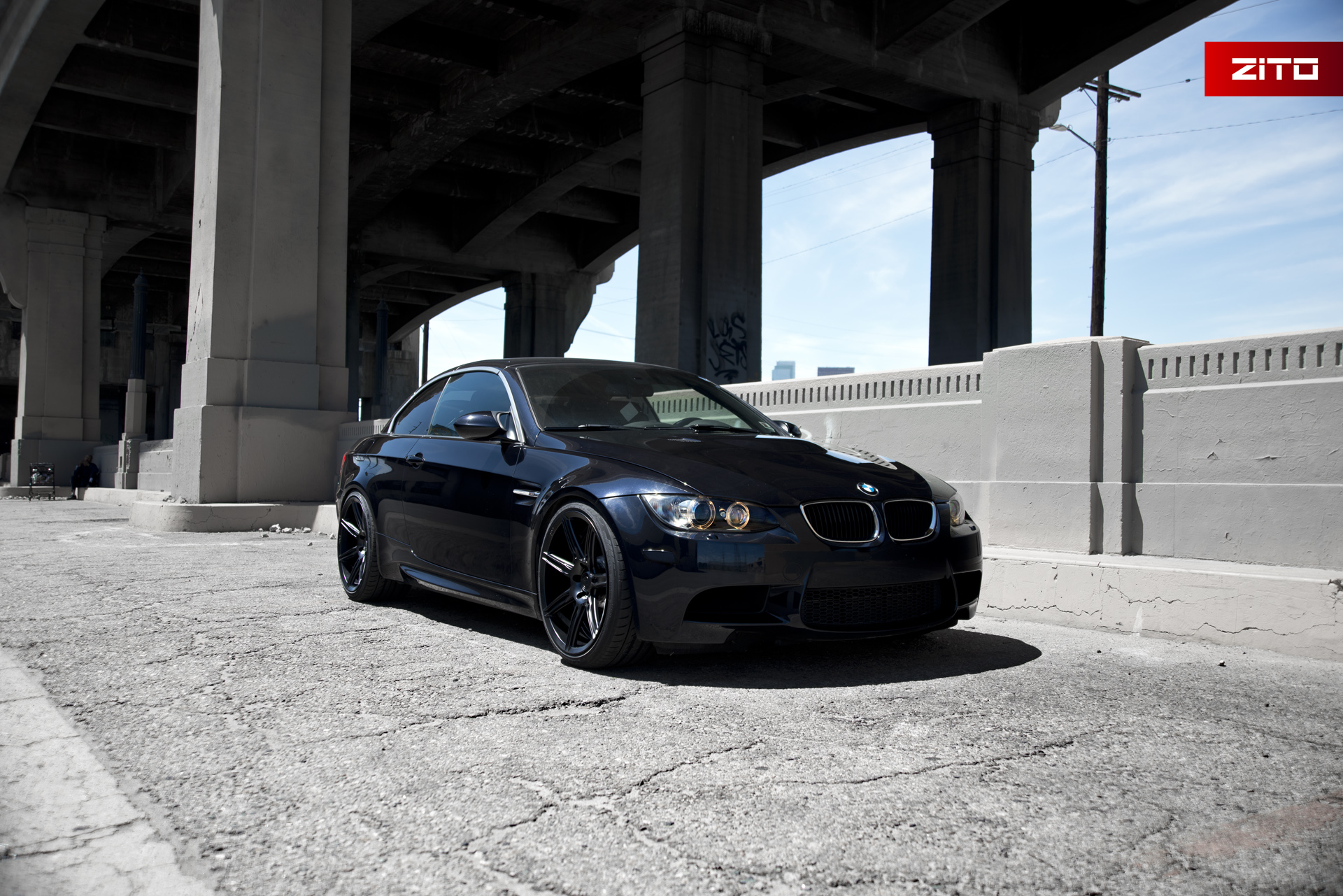 BMW E93 M3 Black Black ZS07