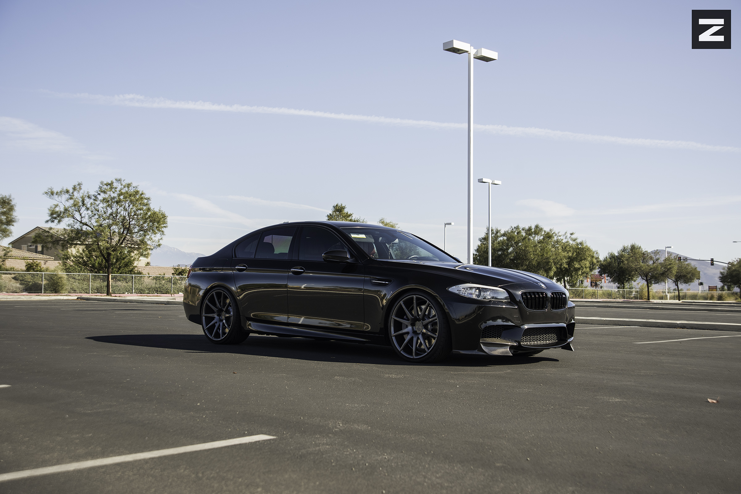 BMW F10 M5 Black Gunmetal ZS03