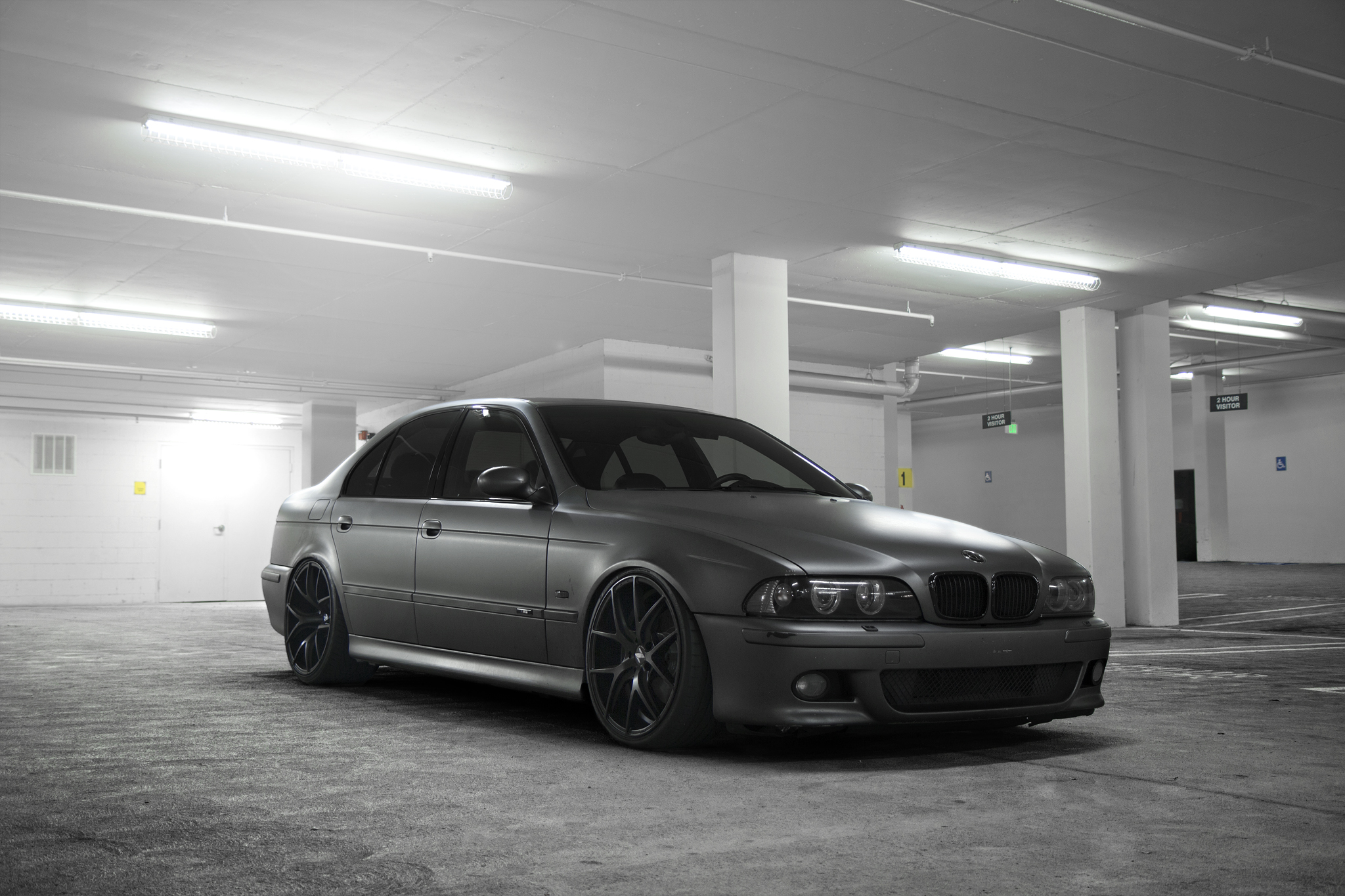 BMW E39 M5 Grey Black ZS05