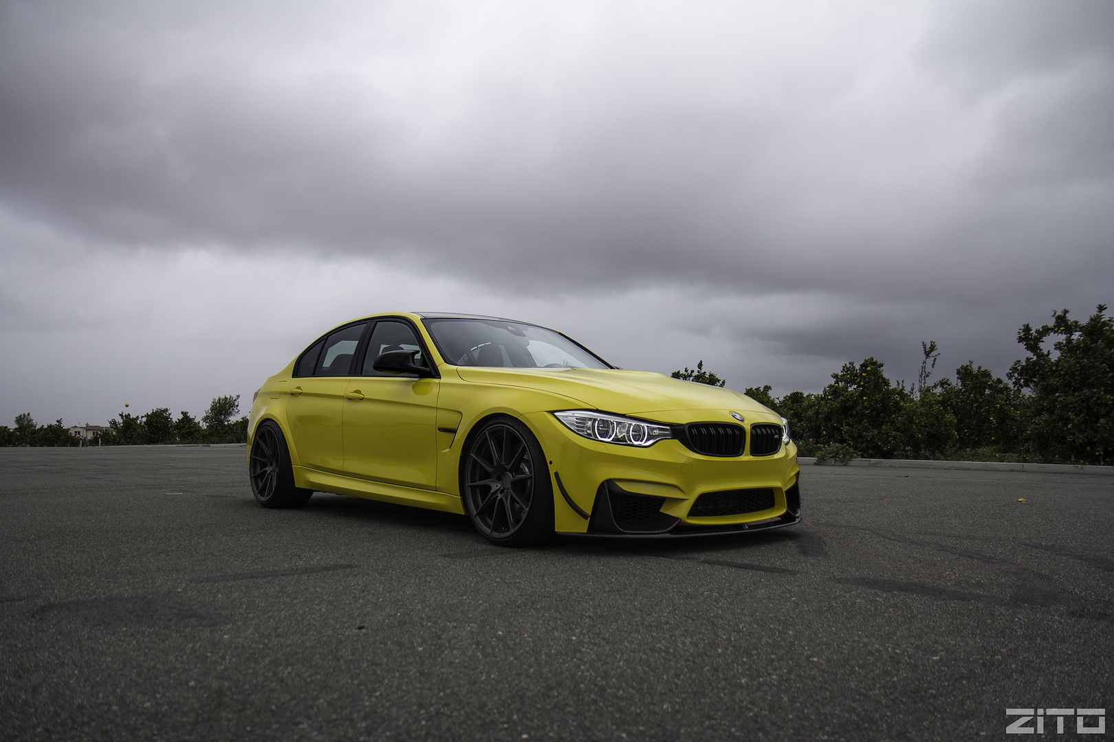 BMW F80 M3 Yellow ZF03