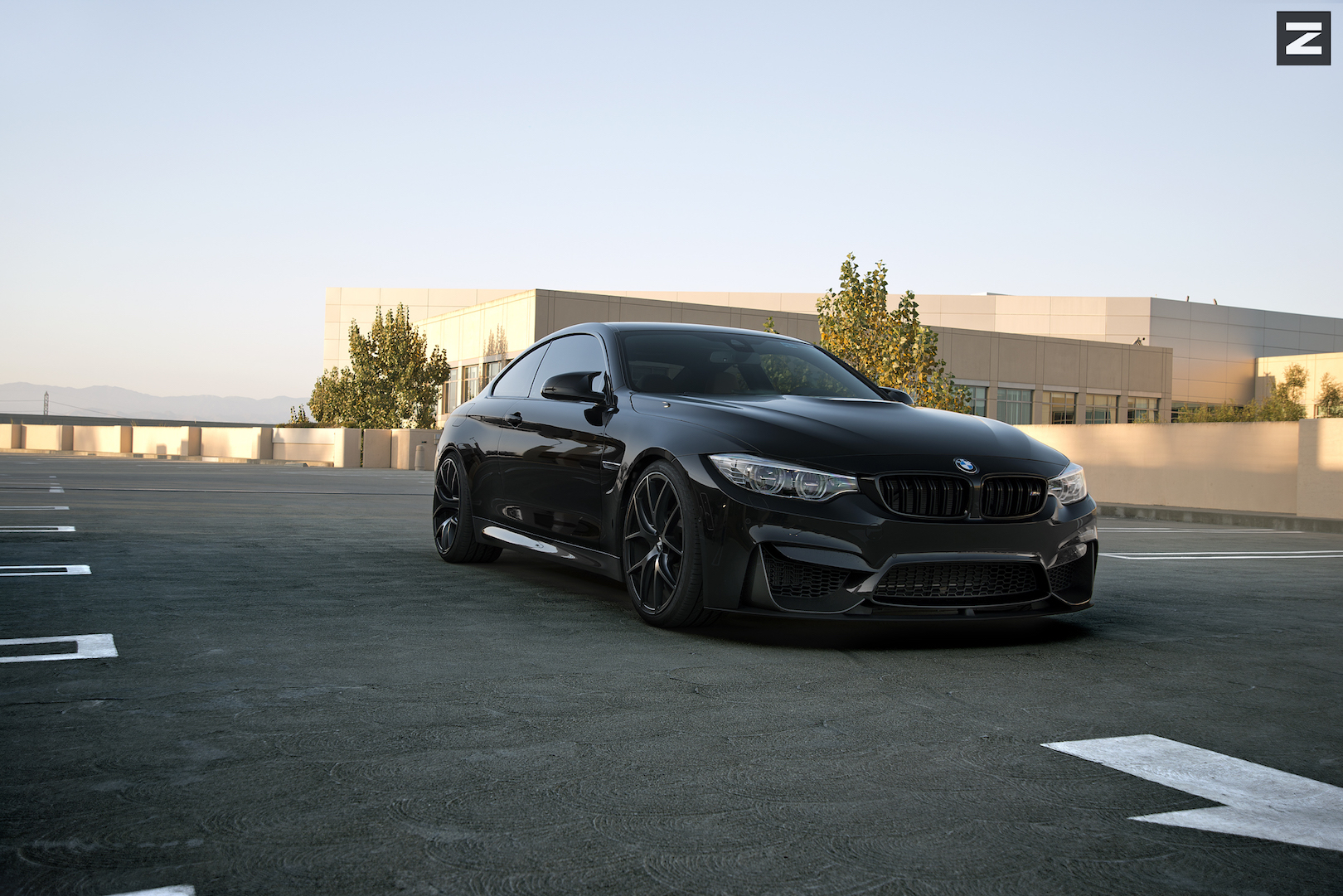 BMW F82 M4 Black Black ZS05