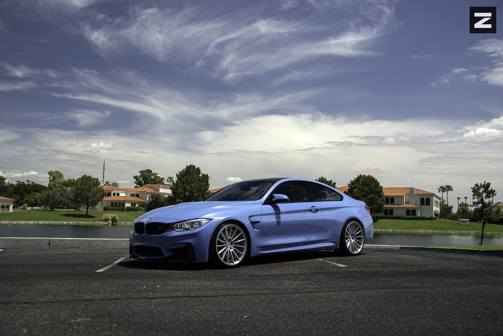 BMW F82 M4 Blue Brushed ZS15
