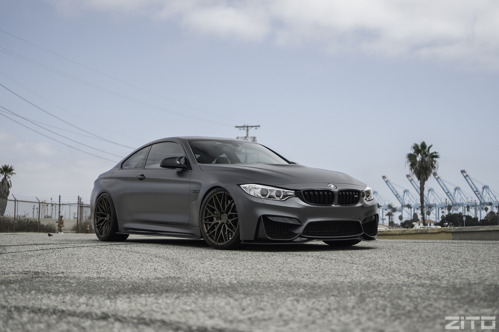 BMW F82 M4 Grey Bronze ZF01