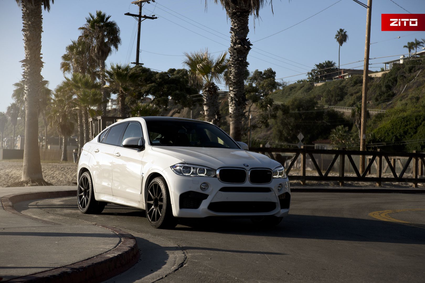 BMW F86 X6M White Black ZS03