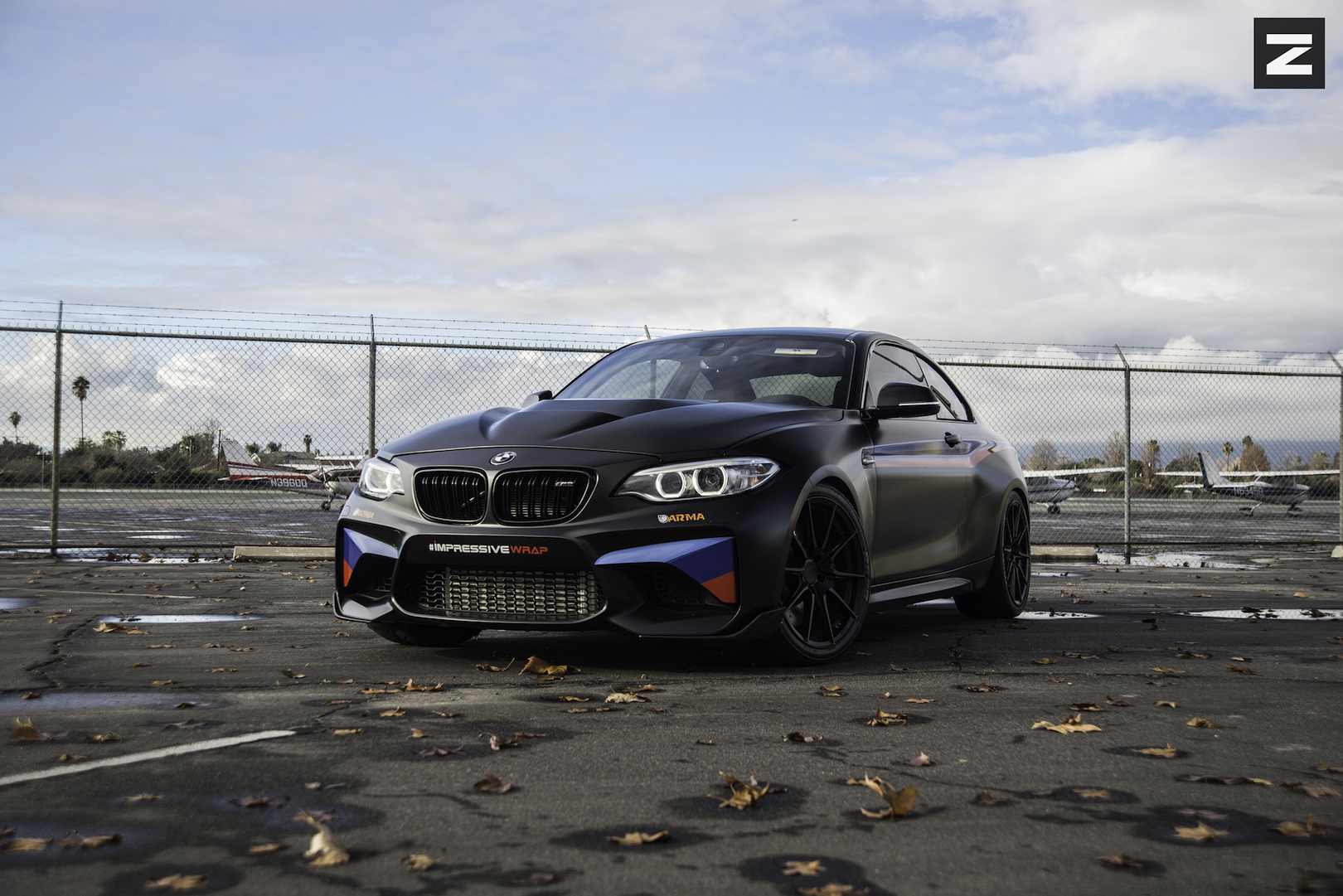 BMW F87 M2 Black Black ZF03