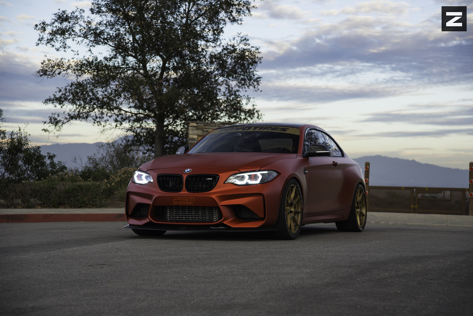 BMW F87 M2 Red Bronze ZF02