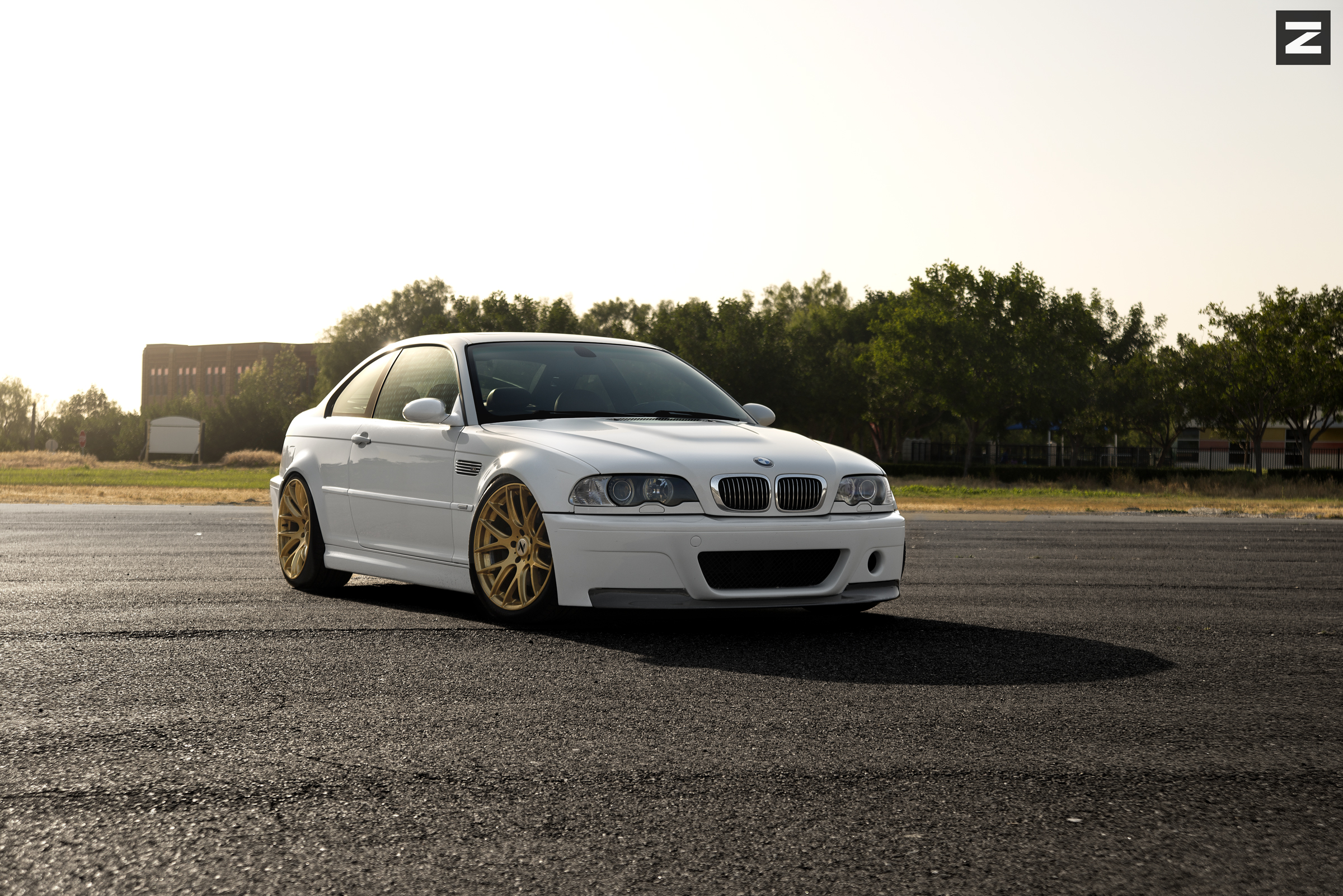 BMW E46 M3 White Gold ZS01