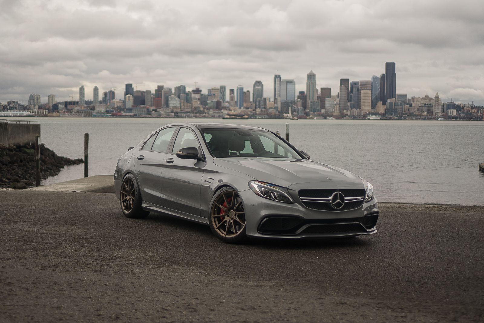 Mercedes AMG C63s Seattle Bronze ZF03