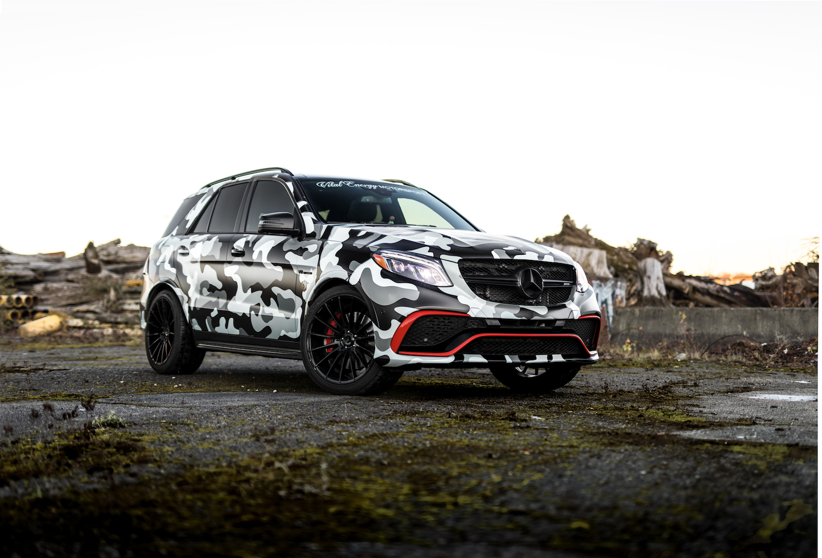 Mercedes Benz GLE63 Black ZS15