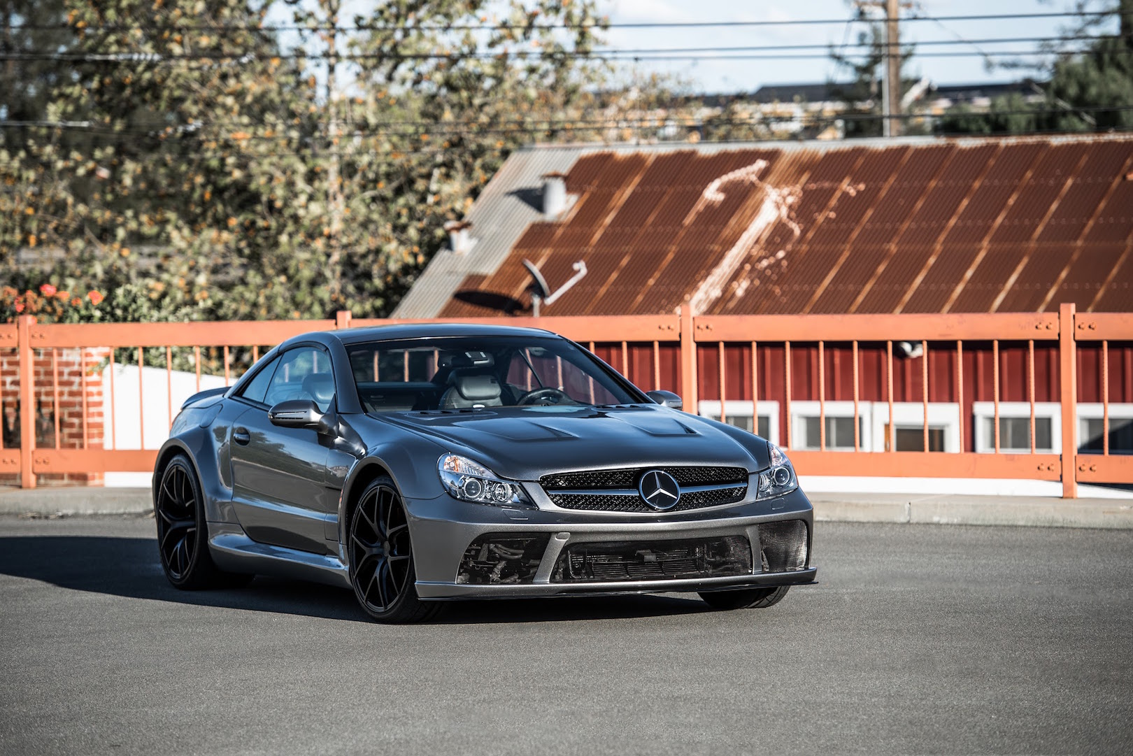 Mercedes Benz SL55 BS Grey Black ZS05