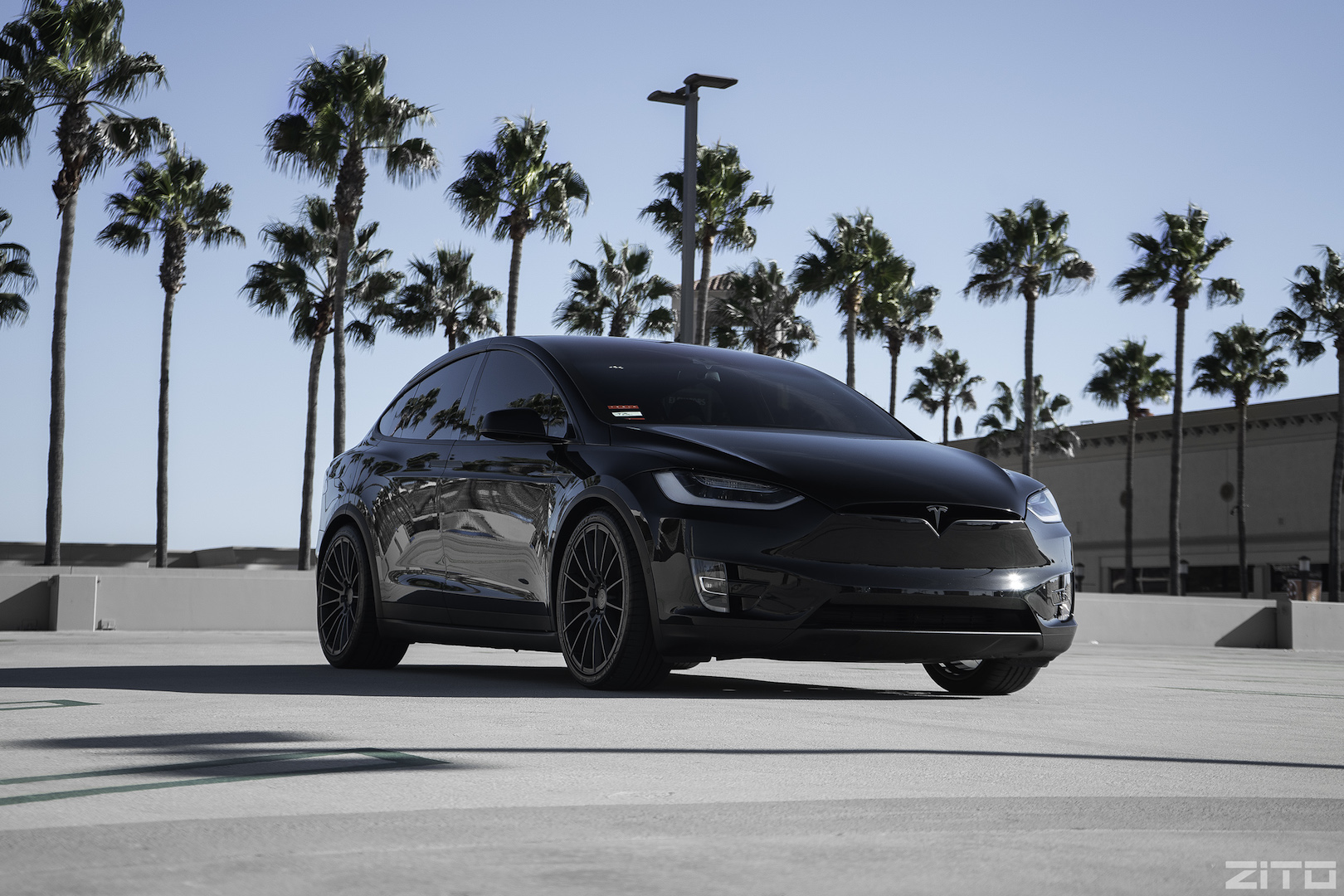 Tesla Model X Black ZS15